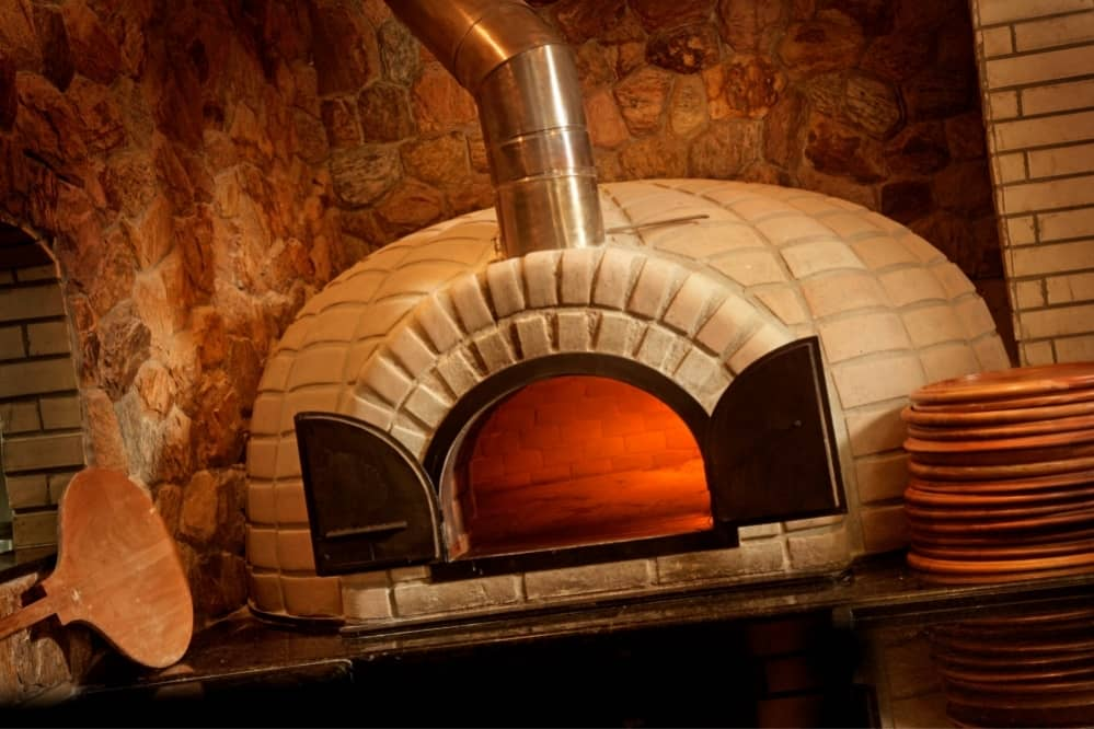 pizza oven chimney